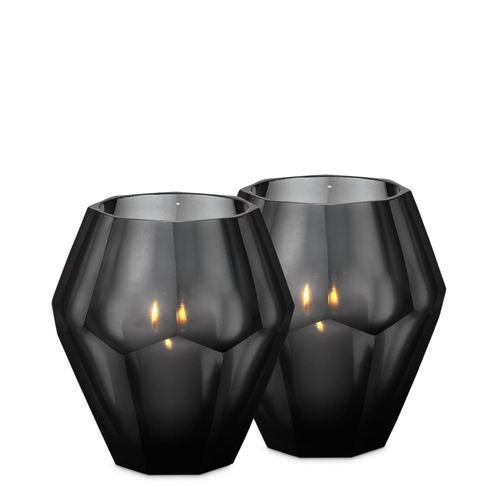 Купить Набор подсвечников Tealight Holder Okhto L set of 2 в интернет-магазине roooms.ru