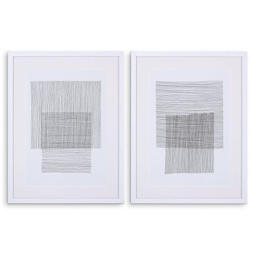 Купить Постер Prints Pencil Drawings set of 2 в интернет-магазине roooms.ru