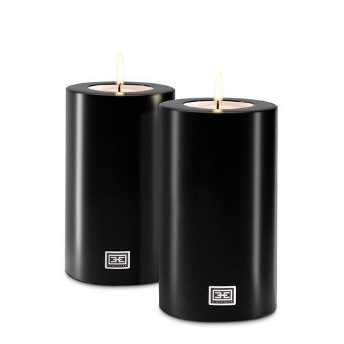 Купить Набор свечей на батарейках Artificial Candle ø 10 x H. 18 cm set of 2 в интернет-магазине roooms.ru