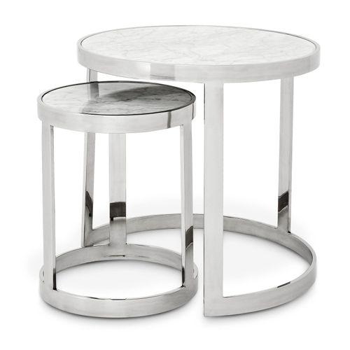 Купить Приставной столик Side Table Fletcher set of 2 в интернет-магазине roooms.ru
