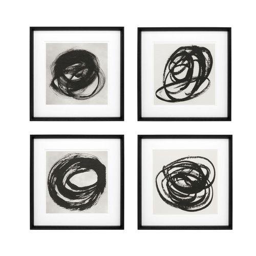 Купить Постер Prints Black & White Collection I set of 4 в интернет-магазине roooms.ru