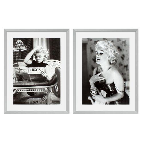 Купить Постер Prints Marilyn Monroe set of 2 в интернет-магазине roooms.ru