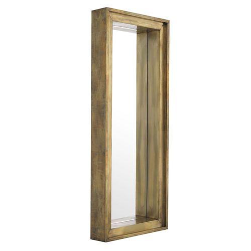Купить Настенное зеркало Mirror Magenta rectangular в интернет-магазине roooms.ru
