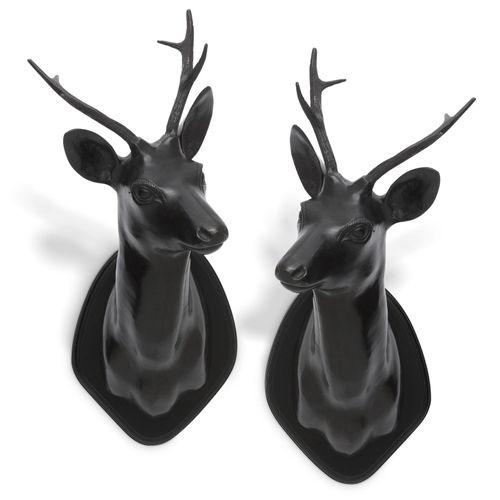 Купить Головы животных Stag Head set of 2 в интернет-магазине roooms.ru
