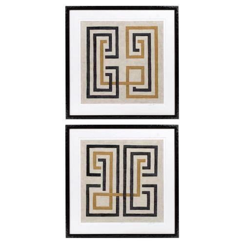 Купить Постер Prints Diversion set of 2 в интернет-магазине roooms.ru