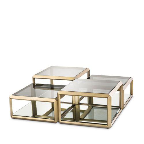Купить Журнальный столик Coffee Table Callum set of 4 в интернет-магазине roooms.ru