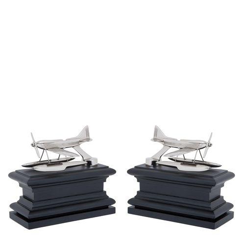 Купить Книгодержатель Bookend Hydroplane set of 2 в интернет-магазине roooms.ru