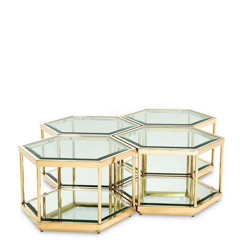 Купить Журнальный столик Coffee Table Sax set of 4 в интернет-магазине roooms.ru
