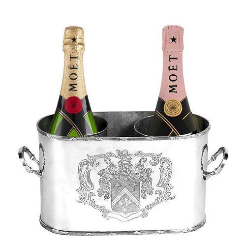 Купить Ведро для охлаждения вина Wine Cooler Maggia Double в интернет-магазине roooms.ru