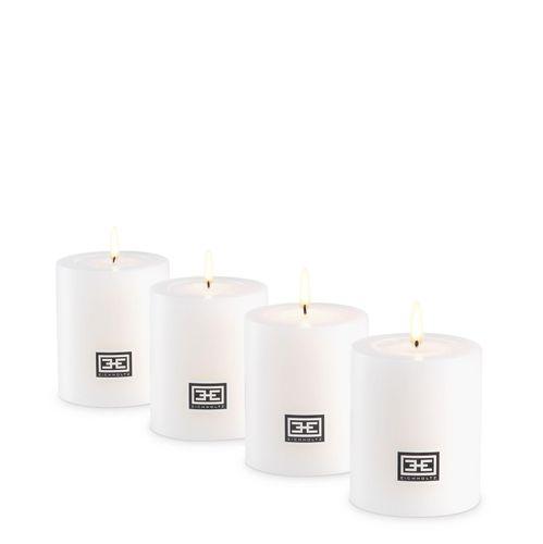 Купить Набор свечей на батарейках Artificial Candle ø 6 x H. 7 cm set of 4 в интернет-магазине roooms.ru