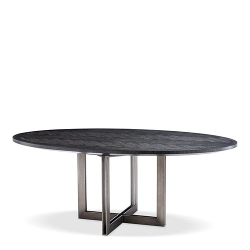 Купить Обеденный стол Dining Table Melchior oval в интернет-магазине roooms.ru
