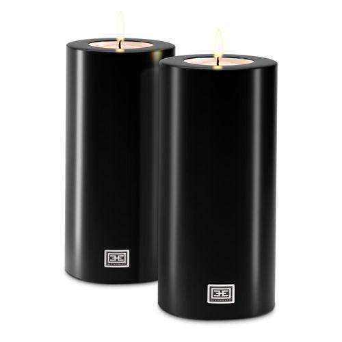 Купить Набор свечей на батарейках Artificial Candle ø 12 x H. 25 cm set of 2 в интернет-магазине roooms.ru