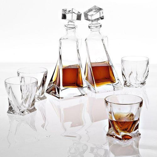 Купить Набор для бара Decanter Sapphire set of 6 в интернет-магазине roooms.ru